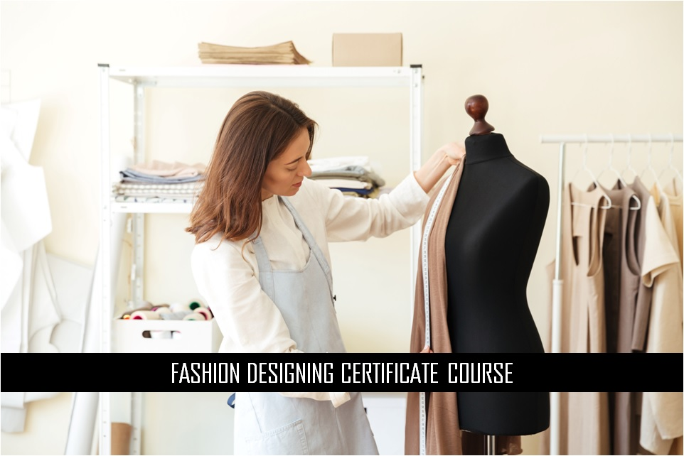 fashion designing certificate course